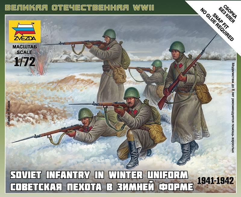 infantería soviética zvezda