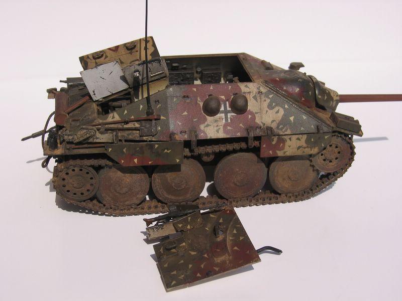 Jagdpanzer maqueta de Eduard