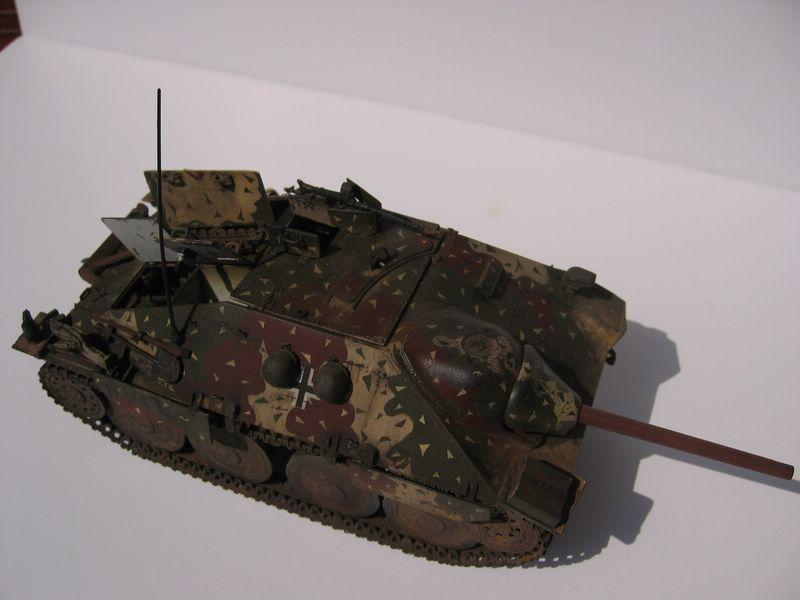 Maqueta Jagdpanzer Eduard