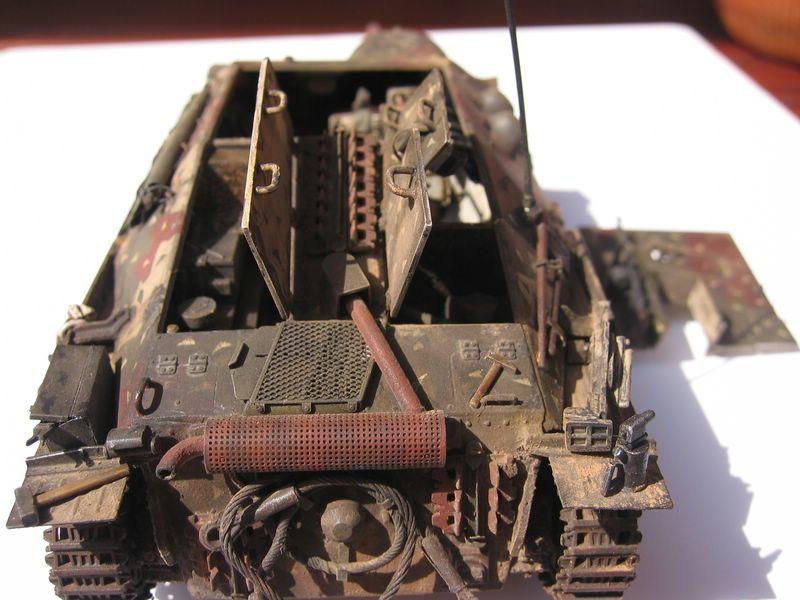 Maqueta de Eduard del Jagdpanzer