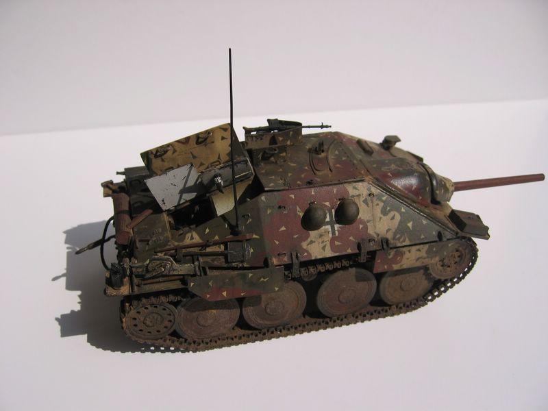 Jagdpanzer kit en maqueta