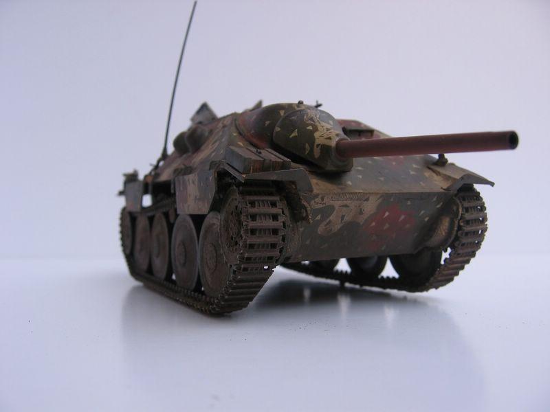 Maqueta Jagdpanzer frontal