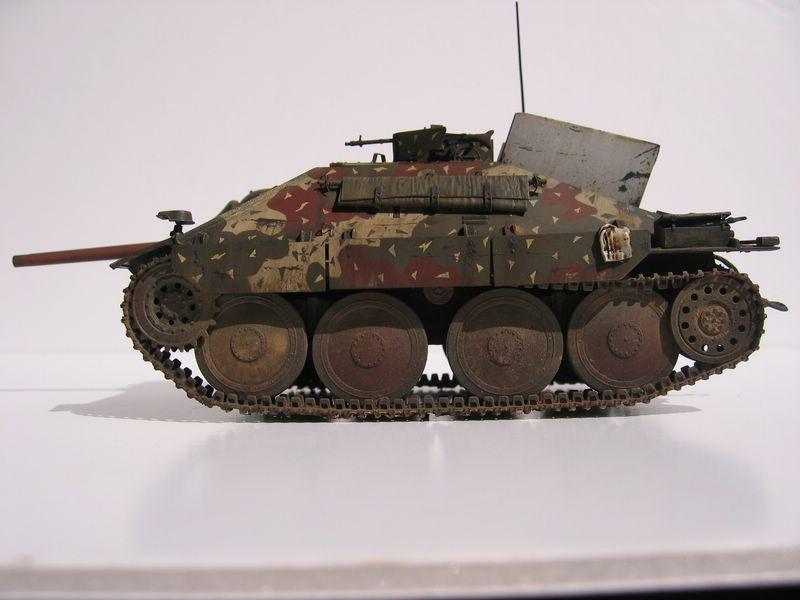 Maqueta Jagdpanzer perfil