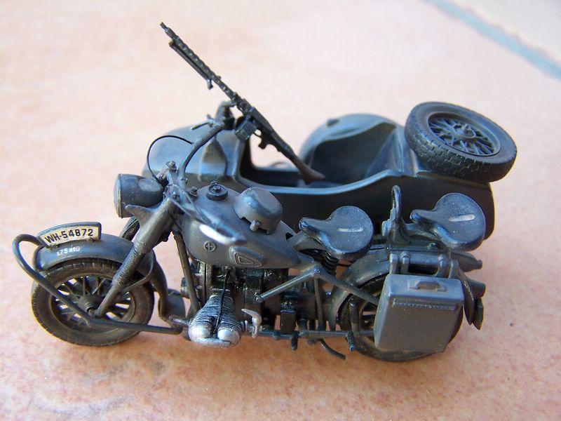 Maqueta moto BMW R75