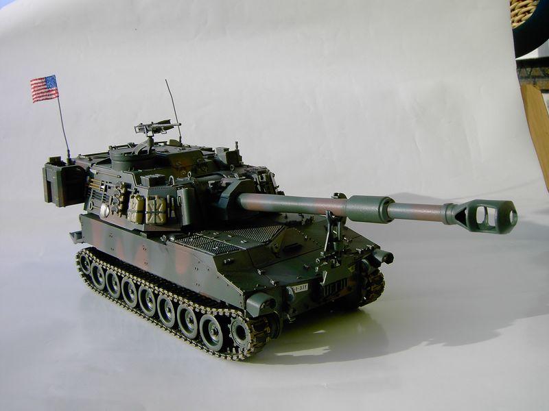 Maqueta Howitzer Italeri 3
