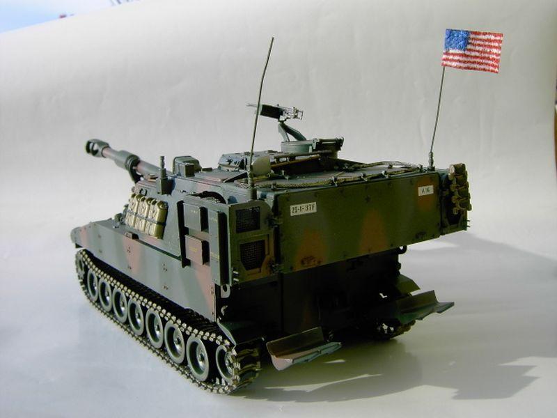 Maqueta Howitzer Italeri 4