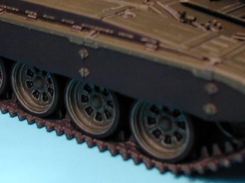 Maqueta Tamiya T-72 03