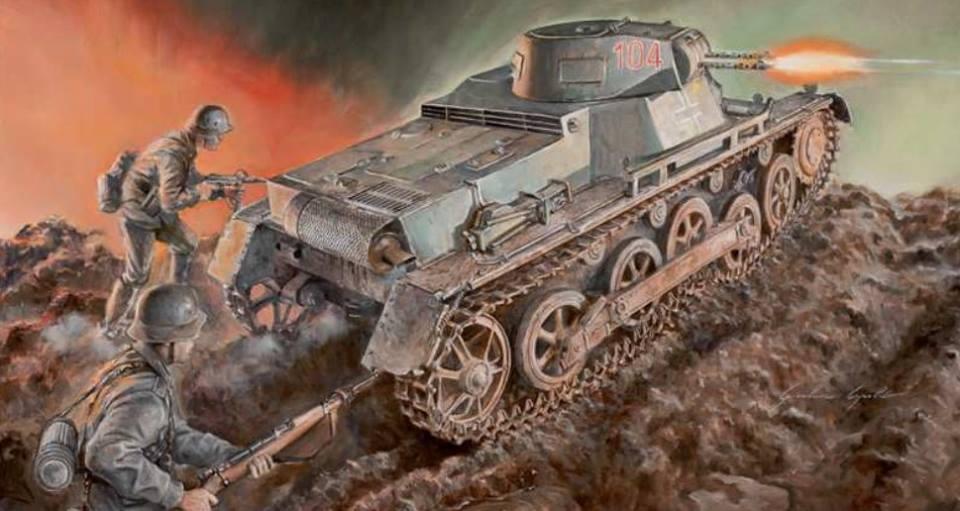 Maqueta Panzer I de Italeri