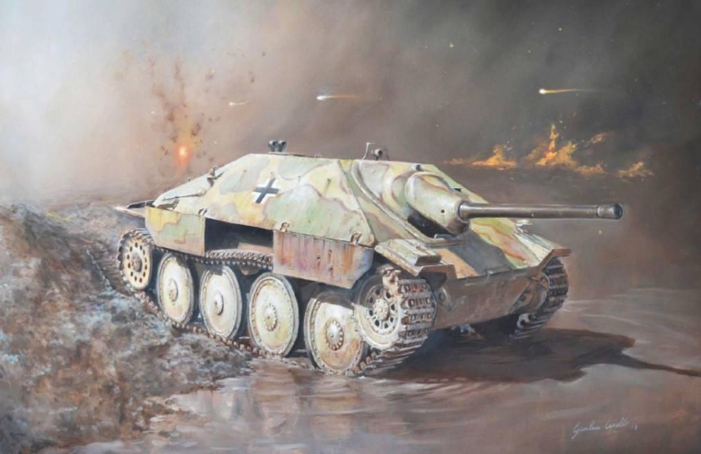 Maqueta Jadgpanzer 38 Italeri